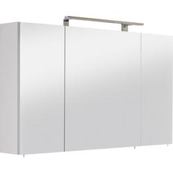 OPTIFIT Spiegelschrank Mino Breite 120 cm weiß