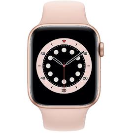 Apple Watch Series 6 GPS 44 mm Aluminiumgehäuse gold, Sportarmband sandrosa
