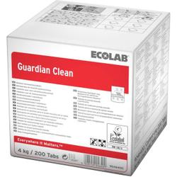 ECOLAB Guardian Clean Spülmaschinen-Tabs, Ökologische Geschirr-Reinigung und Schutz gegen Glaskorrosion, 1 Karton = 200 Tabs à 20 g = 4 kg