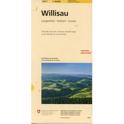Swisstopo 1 : 50 000 Willisau