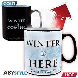 Tasse Game of Thrones Winter is here Thermoeffekt