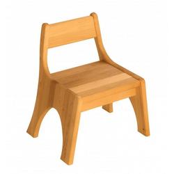 BioKinder - Das gesunde Kinderzimmer Stuhl Robin, Kindergartenstuhl Sitzhöhe 28 cm