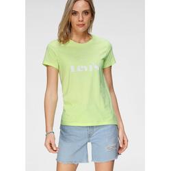 Levi's® Rundhalsshirt The Perfect Tee mit kreisrundem Logo-Print grün L (40)