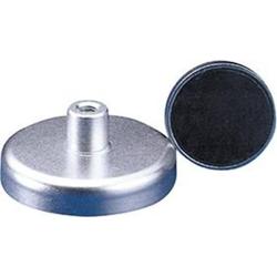 Flachgreifer-Magnet mit Gewinde 32x15mm FORMAT