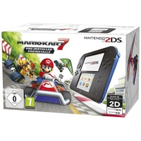 Nintendo 2DS schwarz / blau + Mario Kart 7 (Bundle) ab 95€ im Preisvergleich