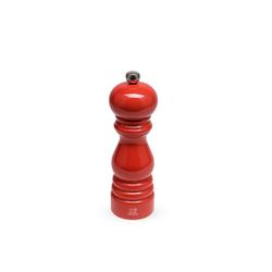 PEUGEOT Pfeffermühle Pfeffermühle PARIS 18 cm, mohnblumenrot lackiert, ohne uSelect