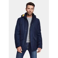 New Canadian Winterjacke RE-Jackt mit abnehmbarer Kapuze blau 50