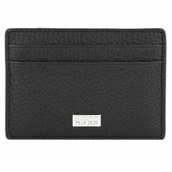 Boss Crosstown Kreditkartenetui Leder 10 cm black