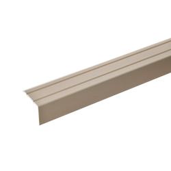 acerto® Winkelprofil acerto® 18 x 24,5 mm Winkelprofil 100cm lang bronze hell selbstklebend