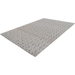 Teppich Alessia, my home, rechteckig, Höhe 10 mm, wetterfest grau 80 cm x 150 cm x 10 mm