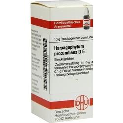 HARPAGOPHYTUM PROCUMBENS D 6 Globuli 10 g