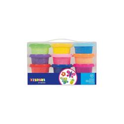 Playbox Knete Softknete Schaumknete, 12 x 14 g