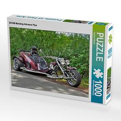 BOOM Mustang-Advance Plus Lege-Größe 64 x 48 cm Foto-Puzzle Bild von Günther Klünder Puzzle