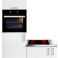 Sharp Backofen-Set Power-Set Graphit, easyClean
