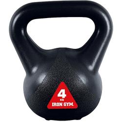 Iron Gym Kettlebell Kettlebells 4 kg, 4 kg, (Packung)