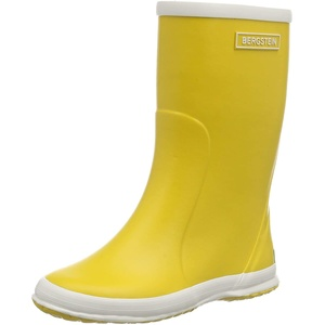 Bergstein Unisex-Kinder BN RainbootY Gummistiefel, Gelb (Yellow), 25