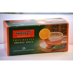 Thiele Tee Orange Spice, 25 x 2 g Beutel