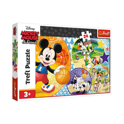Trefl Puzzle Maxi-Puzzle - Time for playing sports! - Disney,, Puzzleteile