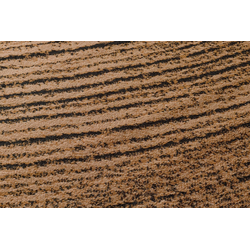 Teppich Baumscheiben Optik braun ca. 80/200 cm, (Läufer)