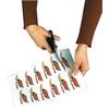 20 Klebefolien wetterfest A4 für Laserdrucker weiß