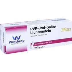 PVP-Jod Salbe Lichtenstein