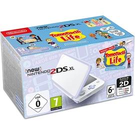 Nintendo New Nintendo 2DS XL weiß / lavendel + Tomodachi Life (Bundle)