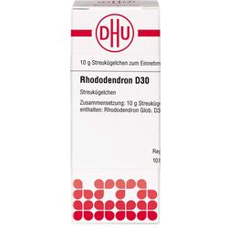 RHODODENDRON D 30 Globuli 10 g