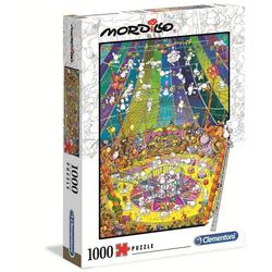 Clementoni® Puzzle 39536 Mordillo Die Show 1000 Teile Puzzle, 1000 Puzzleteile