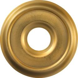ABUS Abdeckrosette 2200 G SB gold, 2-er Set