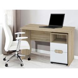 Feldmann-Wohnen Schreibtisch LEONARDO, mit Rollcontainer