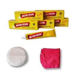 Autowaschbürste Poliermittel Politur Metall Chrom Schutz, Monidur, (7-tlg)