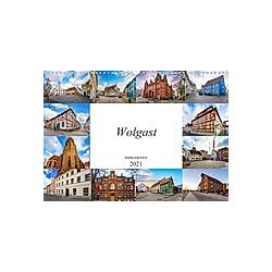 Wolgast Impressionen (Wandkalender 2021 DIN A3 quer)