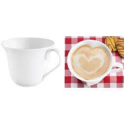 Porzellan-Tasse in Herzform