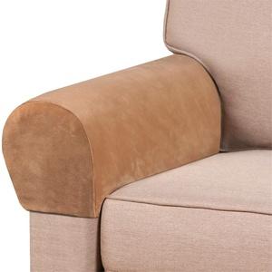 NOPEXTO Couch Armlehnenschoner,Elastische Armlehnenbezüge, Armlehnenbezüge Stretch Armlehnenschoner Für Sofa (4 Pack,Kamel)