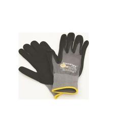 Hufa Fliesenleger Nylon Strick Handschuhe grau M
