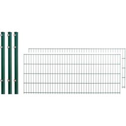 Arvotec Doppelstabmattenzaun, 2 Stk., LxH: 4x0,8 m, grün