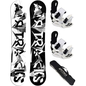 Airtracks Damen Snowboard Set - Board BWF Lady 150 - Softbindung Master W L - SB Bag