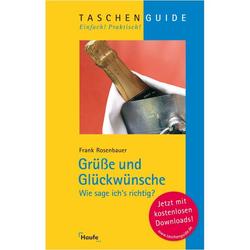 Grüße und Glückwünsche als Buch von Frank Rosenbauer