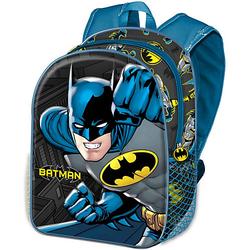 3D-Kinderrucksack Batman schwarz-kombi