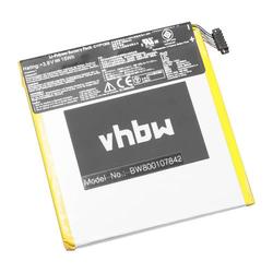 vhbw Li-Polymer Akku 3950mAh (3.8V) für Netbook Pad Tab Tablet Google Nexus 7 2nd, Nexus 7 HD, ME571KL wie C11P1303, C11-P1303.