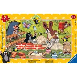 Ravensburger 06151 Puzzle: Der Maulwurf und seine Freunde 15 Teile 6151