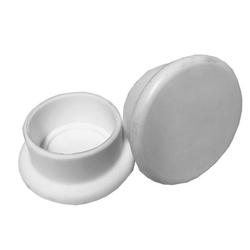 Gummipuffer weiß für 40 mm und 48 mm Leiterholm