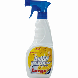 Largo Kalkreiniger, Für Glanz und Reinheit in Bad und Küche, 500 ml - Sprühflasche