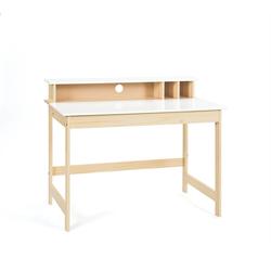 ebuy24 Schreibtisch Giese Schreibtisch 1 aufklappbare Tischplatte, 3 o