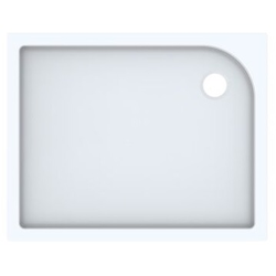 Geberit Duschwanne TALA 1200 x 900 x 72 mm weiß