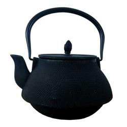 Globe Fire Teekanne Gusseisen ohne Teesieb 2 Liter Schwarz