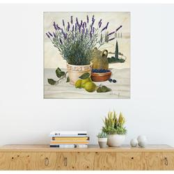 Posterlounge Wandbild, Provenzalische Auswahl 20 cm x 20 cm