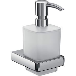 Emco Trend Seifenspender für Flüssigseifen, Glas satiniert, Inhalt 155 ml, Badaccessoires, für Wandmontage - 22100101