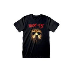 Heroes T-Shirt FREITAG DER 13 T-SHIRT MASK JASON HALLOWEEN FRIDAY THE 13TH GR: M-L-XL-XXL NEU M