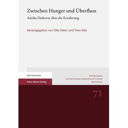 Zwischen Hunger und Überfluss: eBook von